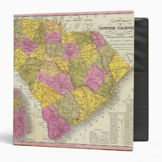 New Map Of South Carolina Binder