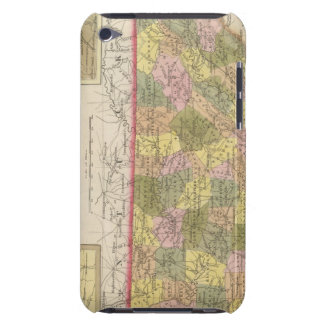 New Map Of Tennessee Barely There iPod Cases