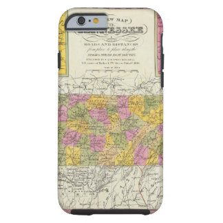 New Map Of Tennessee Tough iPhone 6 Case