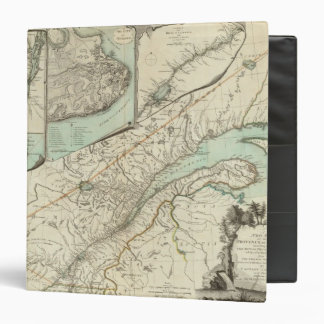 New Map Of The Province of Quebec Binder