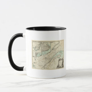 New Map Of The Province of Quebec Mug