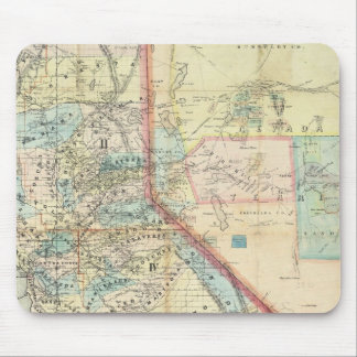 New Map of the State of California Mouse Pad