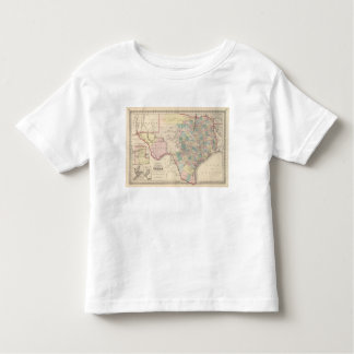 New Map of the State of Texas Toddler T-shirt