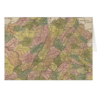 New Map Of Virginia Cards
