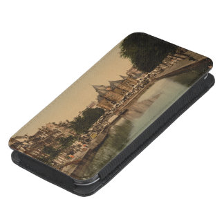 New Market and Bourse, Amsterdam, Netherlands Galaxy S4 Pouch