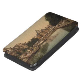 New Market and Bourse, Amsterdam, Netherlands Galaxy S5 Pouch
