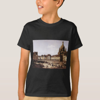 New Market Square in Dresden by Bernardo Bellotto T-Shirt