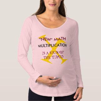 New Math Maternity Long Sleeved shirt