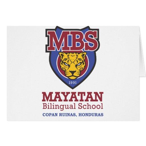 New Mayatan Logo Greeting Card