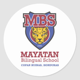 New Mayatan Logo Round Sticker