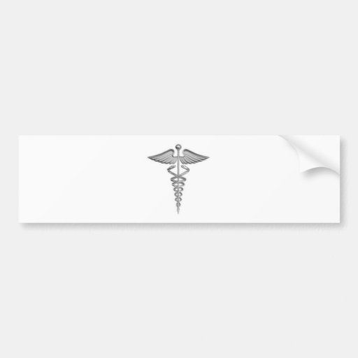 New Medical Symbol.jpg Car Bumper Sticker