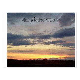 New Mexcio Sunrise Postcard