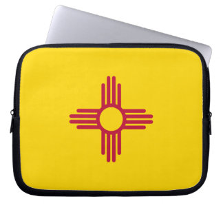 New Mexican Flag Computer Sleeve