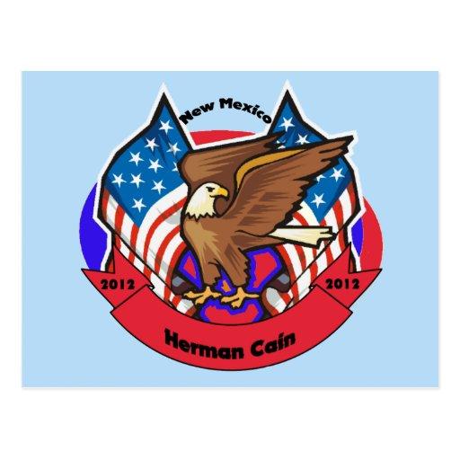 New México 2012 para Herman Caín Postal