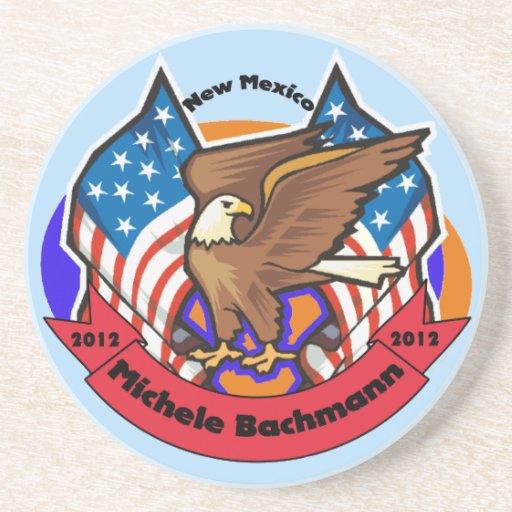 New México 2012 para Micaela Bachmann Posavasos Personalizados