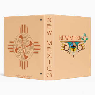 New Mexico 3 Ring Binder
