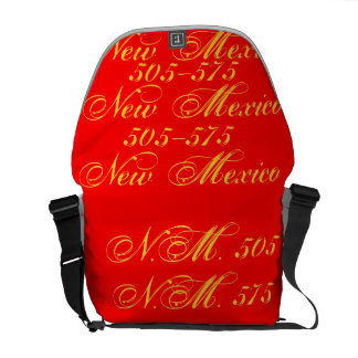 New Mexico 505/ 575 Courier Bag