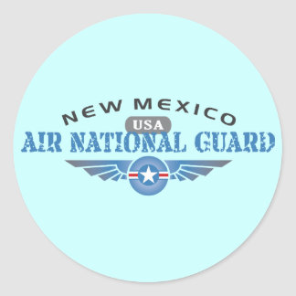 New Mexico Air National Guard Classic Round Sticker