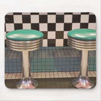 New Mexico, Albuquerque. The 66 Diner along Mouse Pad
