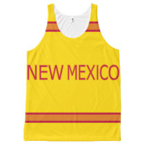 New Mexico All-Over Printed Unisex Tank