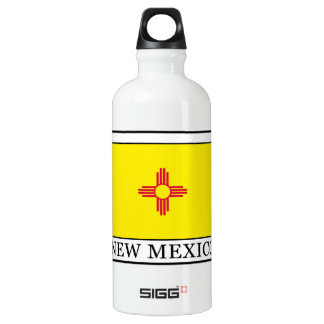 New Mexico Aluminum Water Bottle