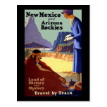 New Mexico and Arizona Rockies Post Card