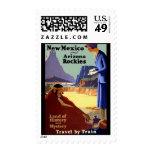 New Mexico and Arizona Rockies Postage Stamp