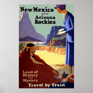 New Mexico and Arizona Rockies Print
