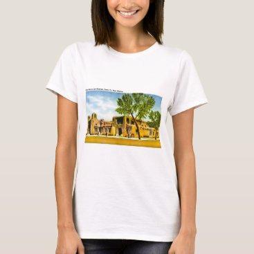 scenesfromthepast New Mexico Art Museum, Santa Fe, New Mexico T-Shirt