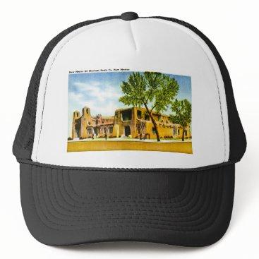 scenesfromthepast New Mexico Art Museum, Santa Fe, New Mexico Trucker Hat