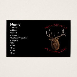 New Mexico Attitude Business Card