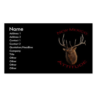 New Mexico Attitude Double-Sided Standard Business Cards (Pack Of 100)