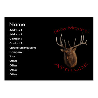 New Mexico Attitude Large Business Card