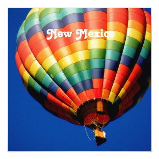 New Mexico Ballooning Invitation