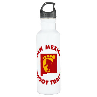 New Mexico Bigfoot Tracker Water Bottle