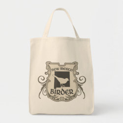 Grocery Tote with New Mexico Birder design