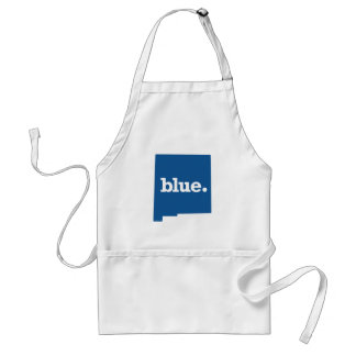 NEW MEXICO BLUE STATE ADULT APRON