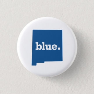NEW MEXICO BLUE STATE PINBACK BUTTON