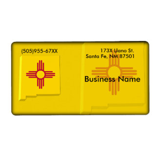 New Mexico Business Label