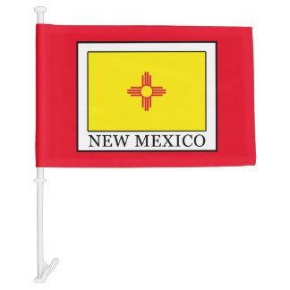 New Mexico Car Flag