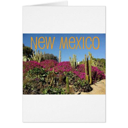 New Mexico Card