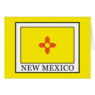 New Mexico Card