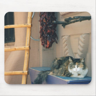 New Mexico Cat Mouse Pad