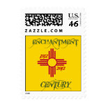 New Mexico Centennial 100 postage stamp