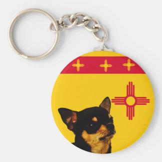New Mexico Chihuahua Keychain