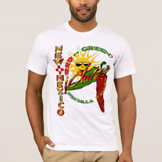 New Mexico chilé, Red or Green? T-Shirt