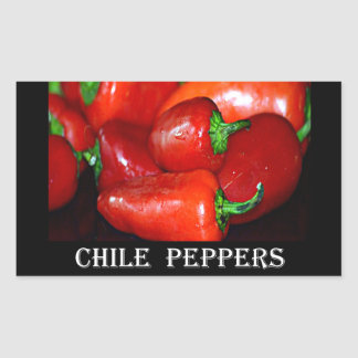 New Mexico Chili Peppers (Chile) Stickers