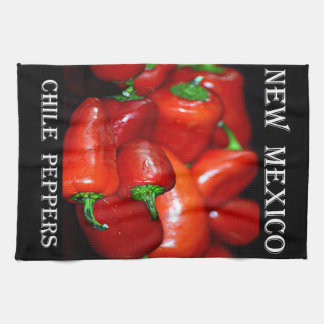 New Mexico Chili Peppers (Chile) Towel