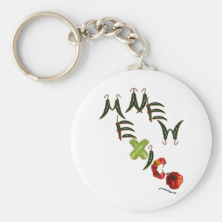 New Mexico Chili Peppers Keychain