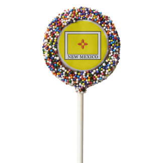 New Mexico Chocolate Dipped Oreo Pop